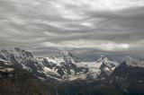 Wild skies over Breithorn