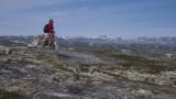 Snowy peaks in the Hardanger