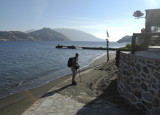 Beach scene, Telendos