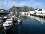 Henningsvaer harbour, Lofoten