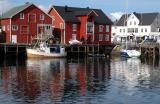 Across Heningsvaer harbour