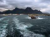 Leaving Svolvaer, had the sea-sick pills?