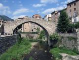 La Pobla and a high bridge