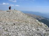 Tosa, Pyrennes, lower summit