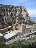 Montserrat monastry from Fra Gary view-point