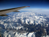 Pyrenees from 35000ft