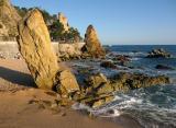 Lloret beach and castle