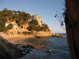 Lloret castle and beach