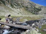 Pyrenean footbridge