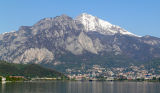 Lecco and Grignetta mountain