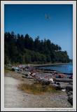 Crescent Beach at White Rock, British Columbia
