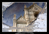 Santa Croce - Firenze - puddle reflection