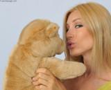 Kiss me,Teddy ...