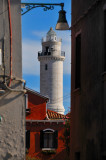 Murano Is.: The lighthouse through the old palaces ...