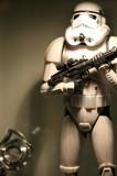 Stormtrooper with Sliderule Calculator