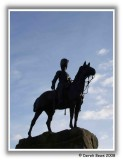 Royal Scots Greys Statue