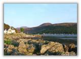 Lochranza from Newton Point