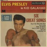 'Kid Galahad' ~ Elvis Presley (Vinyl Australian EP & Double Feature CD)