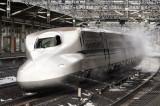 Series N700 at Maibara Station
