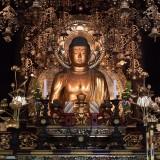 Amida Buddha at Chion-in Temple Kyoto