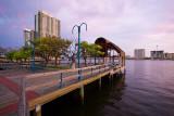 Southbank Riverwalk Looking West