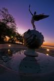 Memorial Park at Dawn