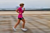 Runner in Pink