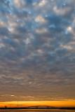 Hart Bridge with  Mackerel Sky