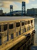 River Taxi at Dawn