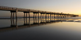 JAX Beach Pier Becalmed