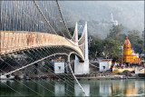 Ram Jhula in the mist