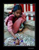 My Kolam, a daily task