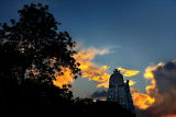 North Gopuram at sundown