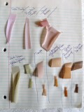 Dyeing Lingerie Findings Swatch Page