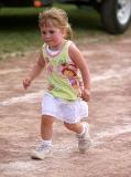 RUNNING ALONG DADDY