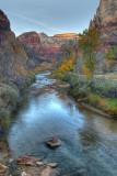 Virgin River Sunset