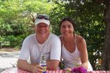 Bob & Anita at Vie's Snack Shack