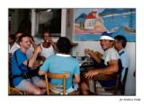 La dura vida d'un fotògraf a Grècia. 1988