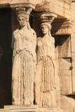 Caryatids from the Erechtheum