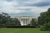 Storm clouds over the White House