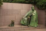 The Franklin D Roosevelt Memorial