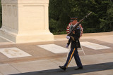 At the Tomb of the Unknown Soldier, Arlington Cemetery