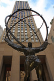 Rockefeller Center - Statue of Atlas