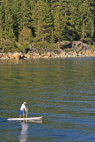 Paddling on Emerald Bay