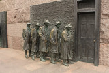 The Bread Line at the FDR Memorial