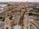 The view from the top of St Paul's Cathedral