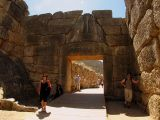 The famous Lions Arch at Mycenae