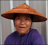 Hmong Lady in the city