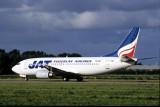 JAT YUGOSLAV AIRLINES BOEING 737 300 AMS RF  V100F.jpg