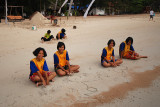 School girls after school, Koh Tao